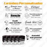 Kit Carimbos com 5 unidades personalizado