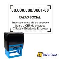 Carimbo Automático 60x40mm - CNPJ