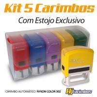 Kit Estojo Color com 5 unidades (ESTOJO DE BRINDE) - Professores