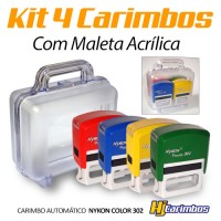 Kit Maleta Color com 4 unidades - Professores