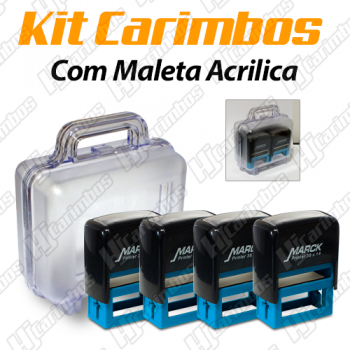 Kit Maleta com 4 unidades - Professores