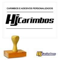 Carimbo Retangular de madeira 40x70mm para Logomarcas